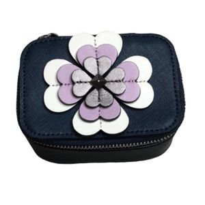 Kate Spade Reilly Flower Appliqué Jewelry Holder